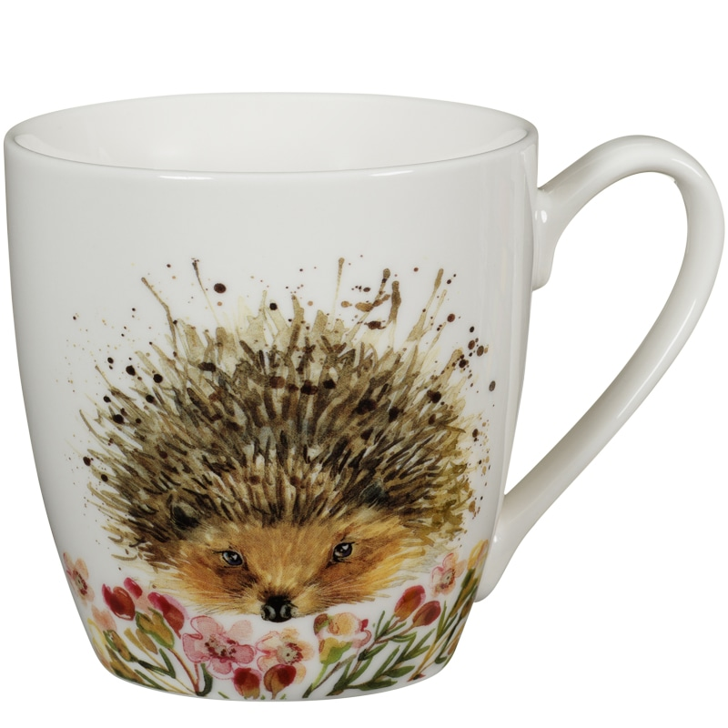 Animal Print Mug Hedgehog Tableware Mugs B Amp M Stores