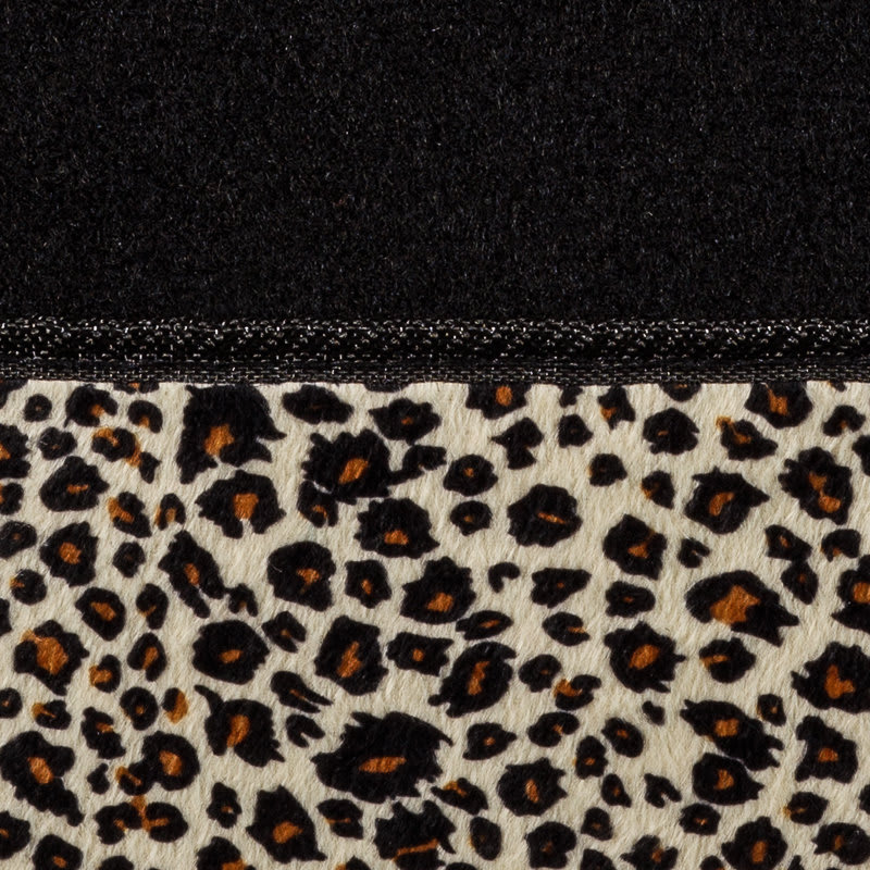 Auto Tech Leopard Print Car Mats 4pc