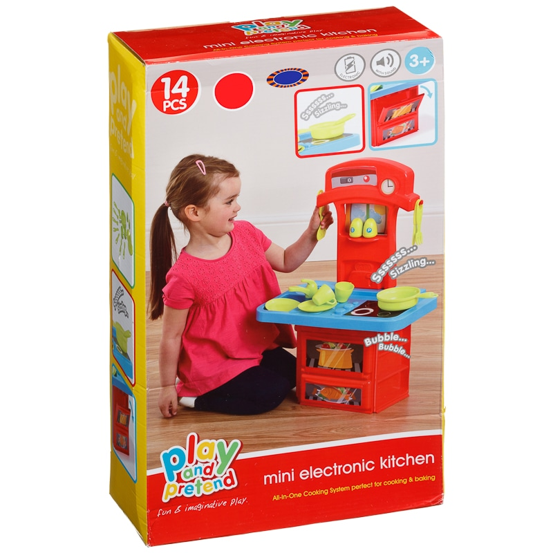 My first kitchen play set baby toddler toys role play for First kitchen set