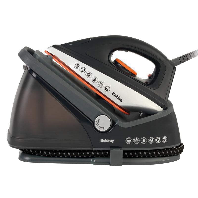 Steam Generator Iron ~ Beldray steam generator iron ironing laundry b m