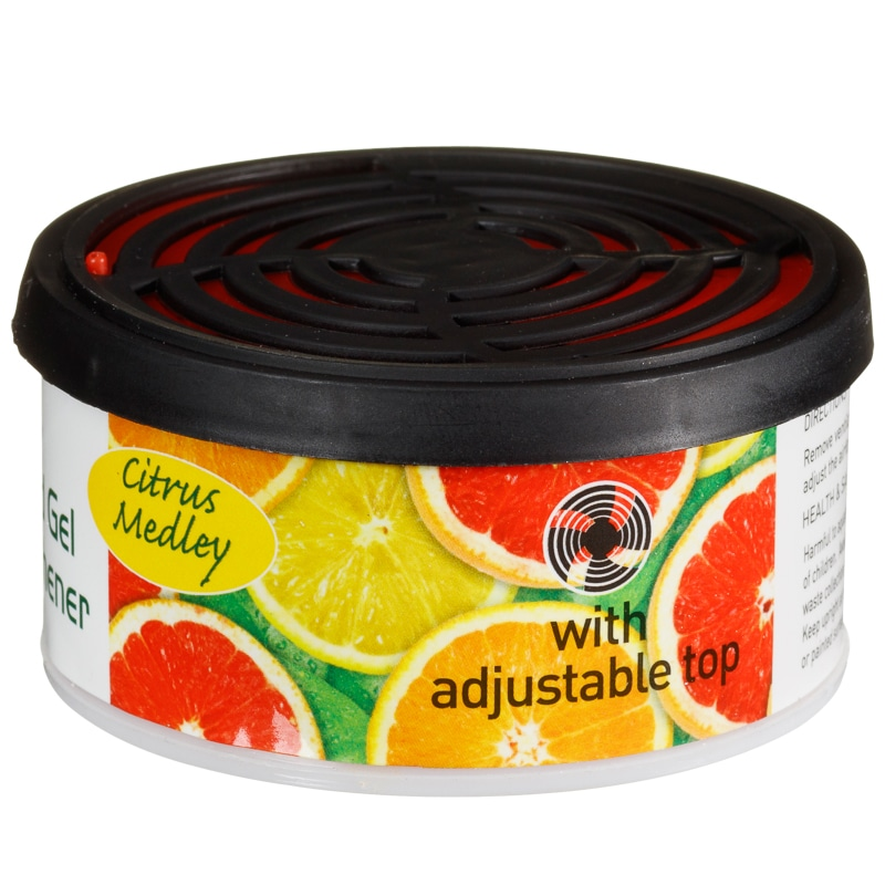 Auto Tech Auto Fresh Scented Gel Air Freshener Citrus