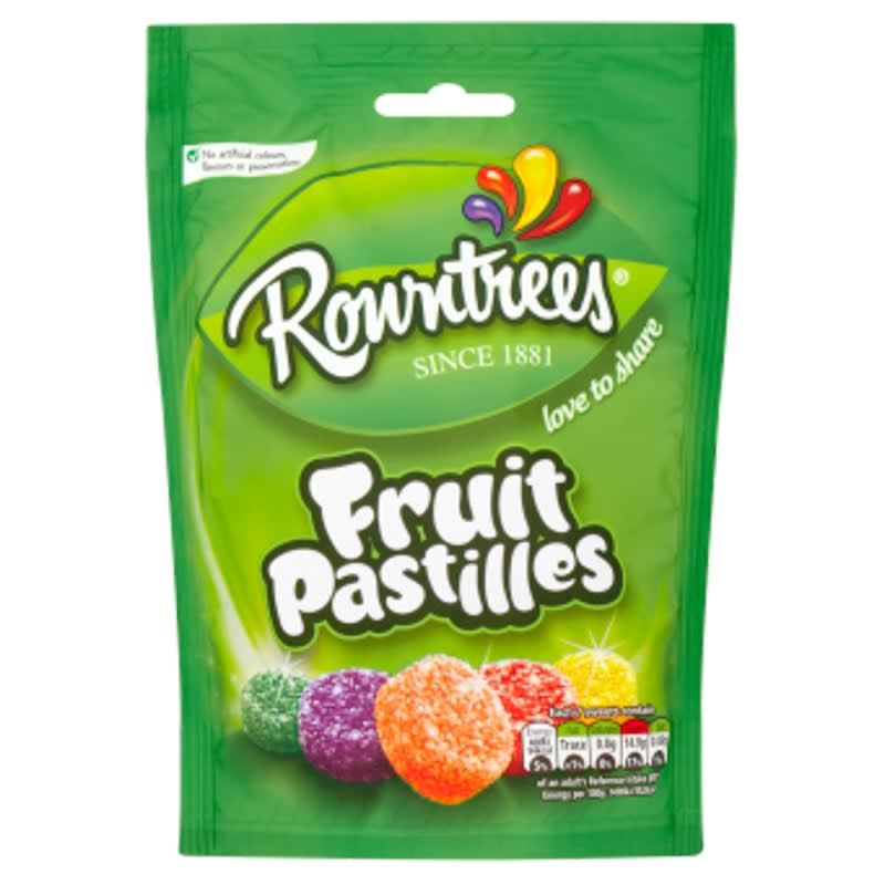 Fruit Rowntree's amp;m Sweets Pastilles 150gGroceries Pouch B cFlJKuT13
