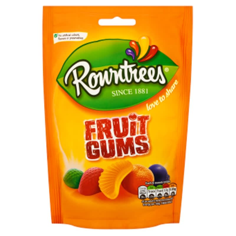 Rowntree's Fruit Gums Pouch 150g | Groceries