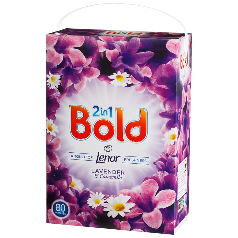B Amp M Bold 2 In 1 Washing Powder 80w Lavender Amp Camomile