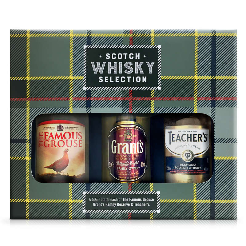 Scotch Whisky Selection Gift Set | Gifts for Him | Spirits