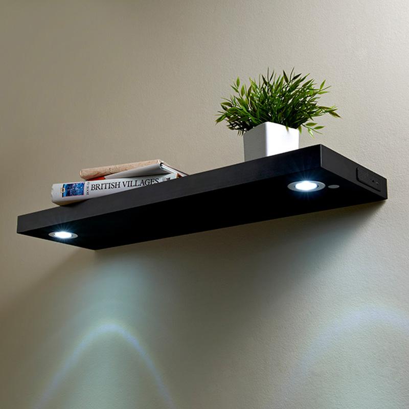 led shelf 80cm black shelving b m rh bmstores co uk