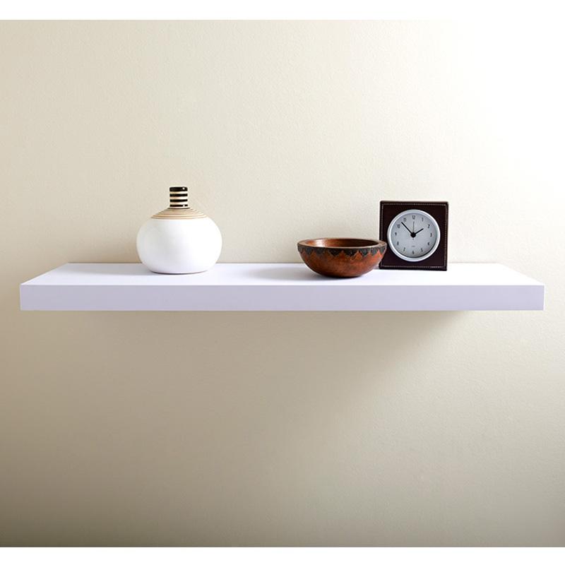 Led Shelf 80cm White Shelving B Amp M