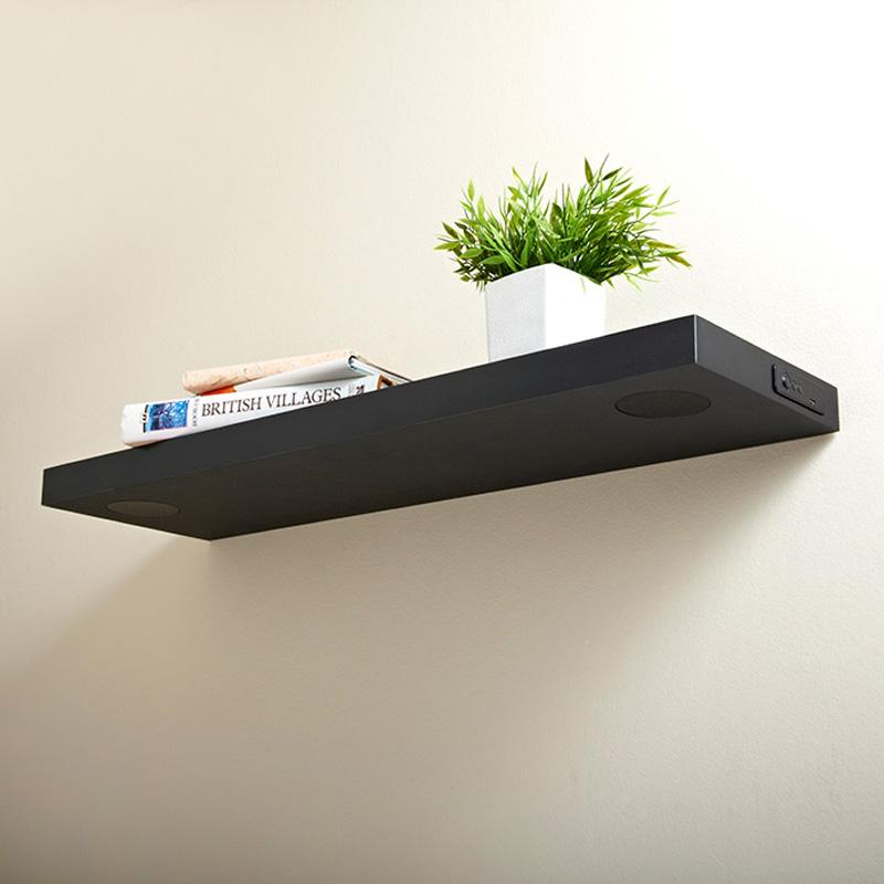 Bluetooth Shelf 80cm Black Shelving B Amp M Stores