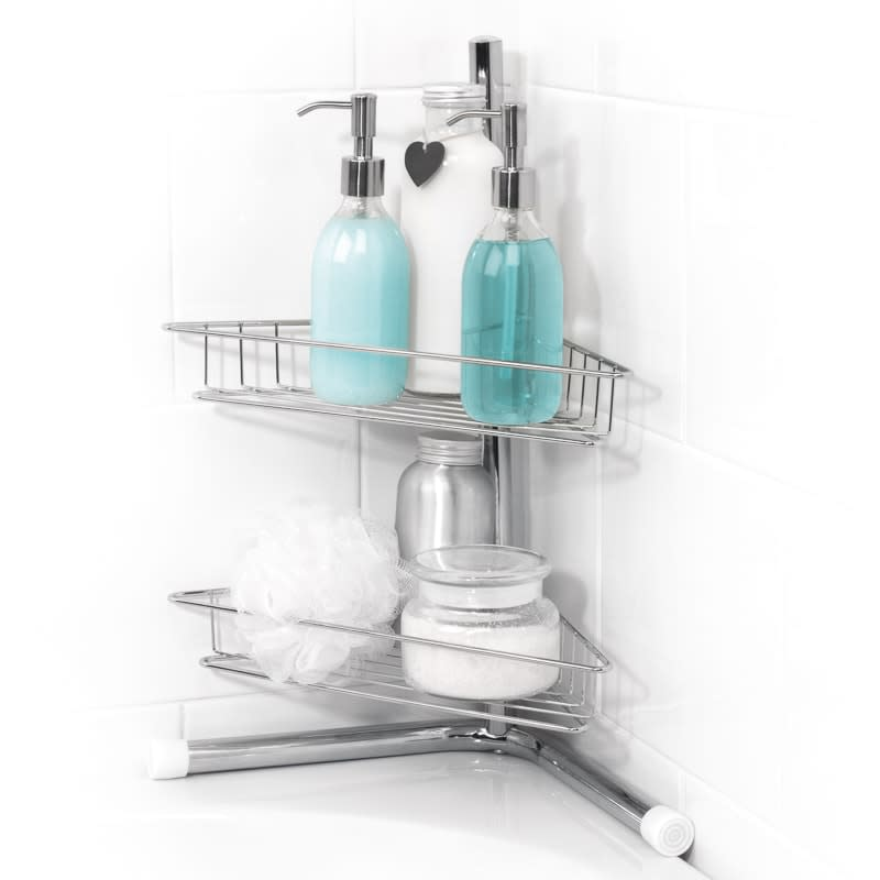 Beldray 2 Tier Corner Bath Caddy