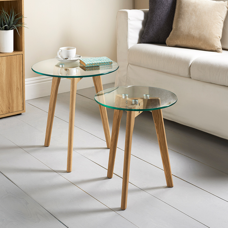 Aiden Table Set 2pc Furniture Living Room B M