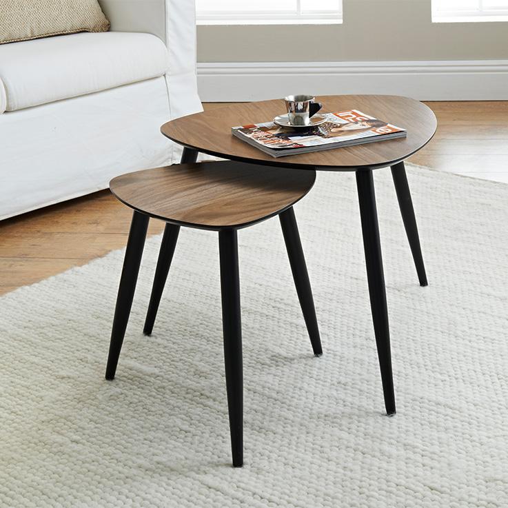 Coffee Table Solid Walnut Wood