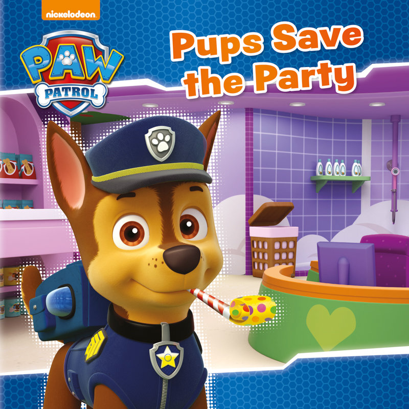 Paw Patrol Story Book Pups Save The Party Kids Books