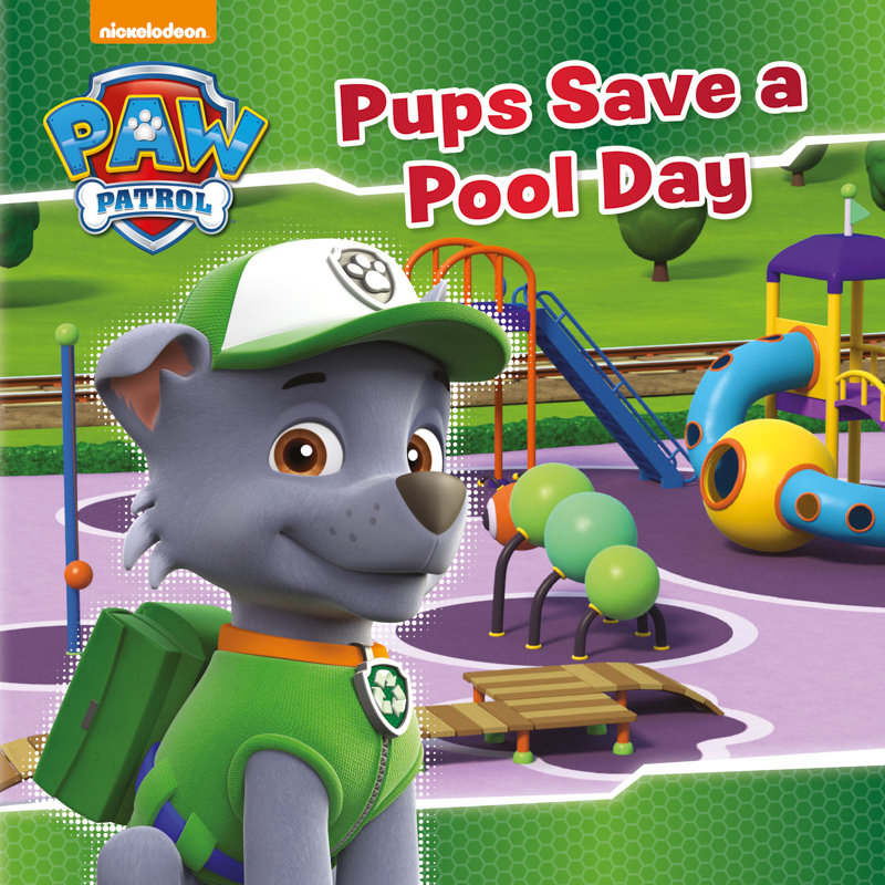 Paw Patrol Story Book Pups Save A Pool Day Kids Books