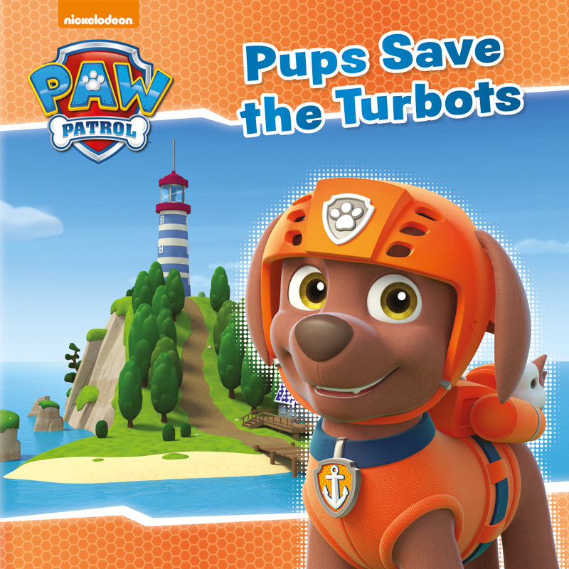 Paw Patrol Story Book Pups Save The Turbots Kids Books