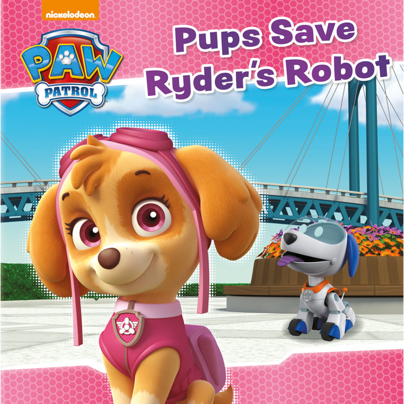 Paw Patrol Story Book Pups Save Ryder S Robot Kids Books