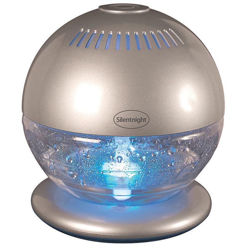 Silentnight Colour Changing Air Purifier Humidifier B Amp M
