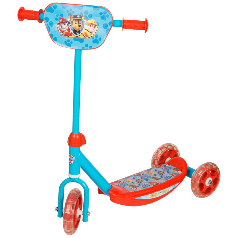 paw patrol 3 wheel scooter toys kids scooters b m. Black Bedroom Furniture Sets. Home Design Ideas