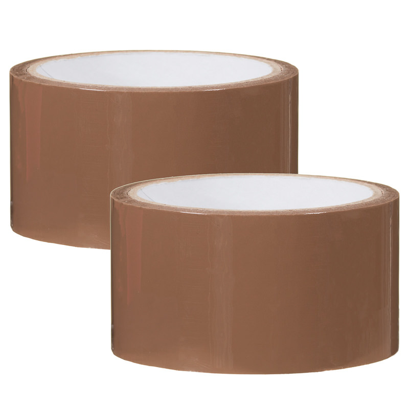 B Amp M Packaging Tape 50mm X 30m 2pk 315129 B Amp M