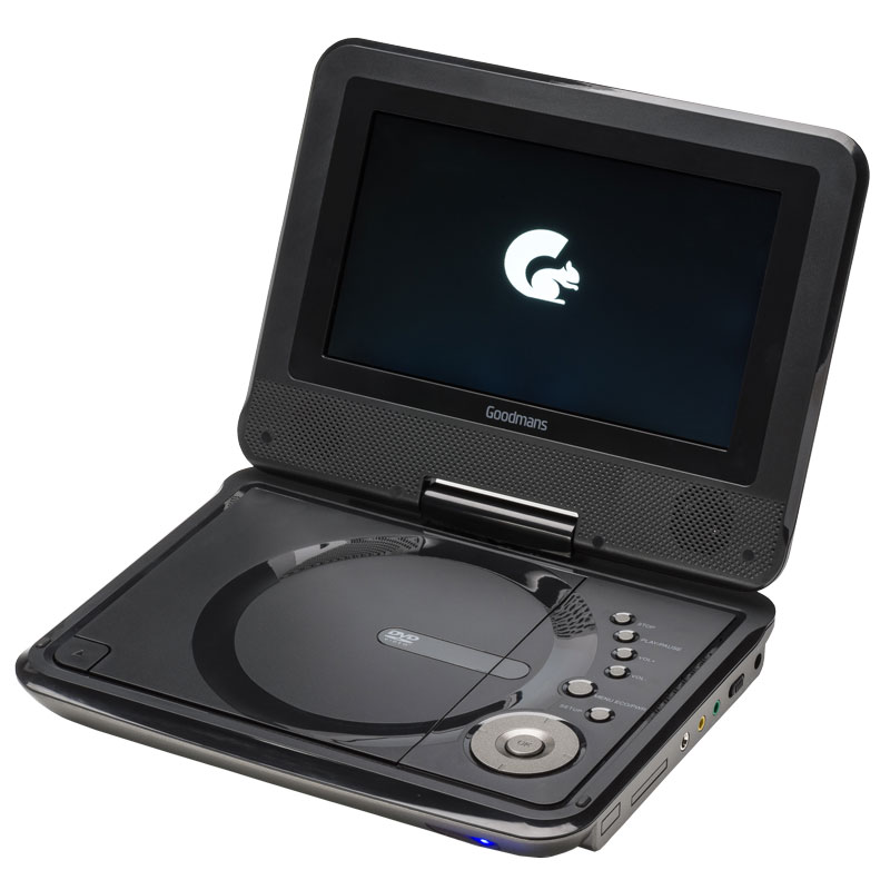 Goodmans 7 Quot Portable Dvd Player Travel Electricals B Amp M