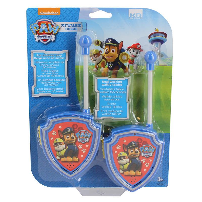Paw Patrol Walkie Talkie Outdoor Toys Kids Gadgets