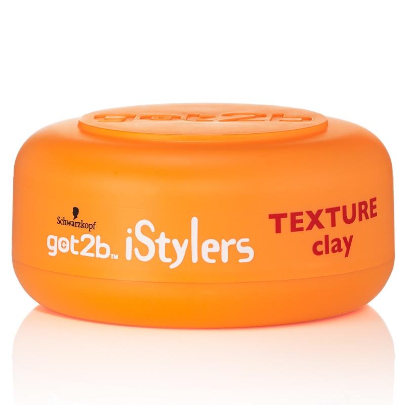 Schwarzkopf Got2b Istylers Texture Clay 75ml Hair Care B Amp M