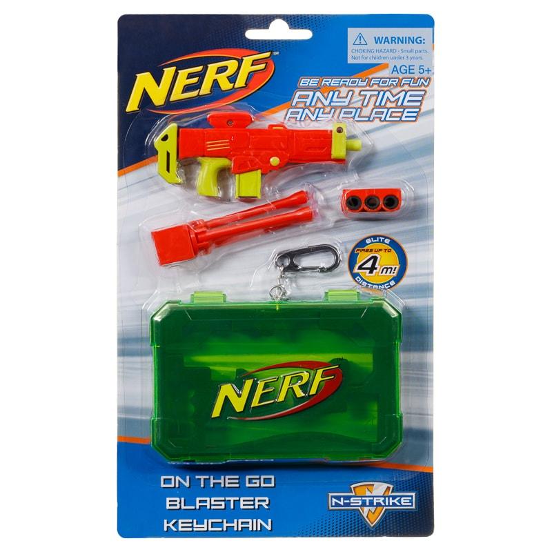 Nerf Blaster Keychain Gadget Toys B Amp M