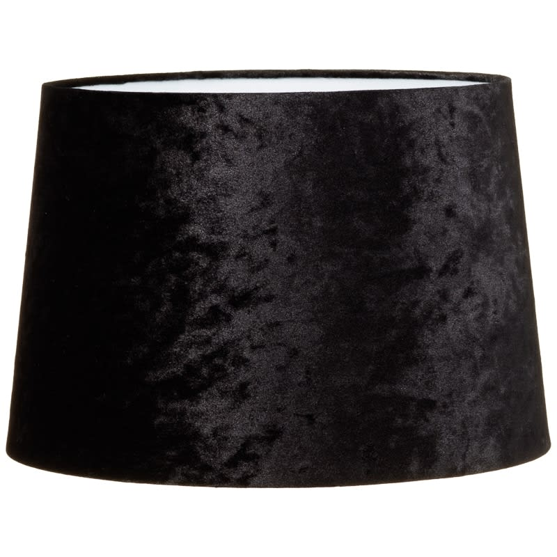 Crushed velvet light shade home decor lighting bm 328996 crashed velvet black light shade aloadofball Image collections