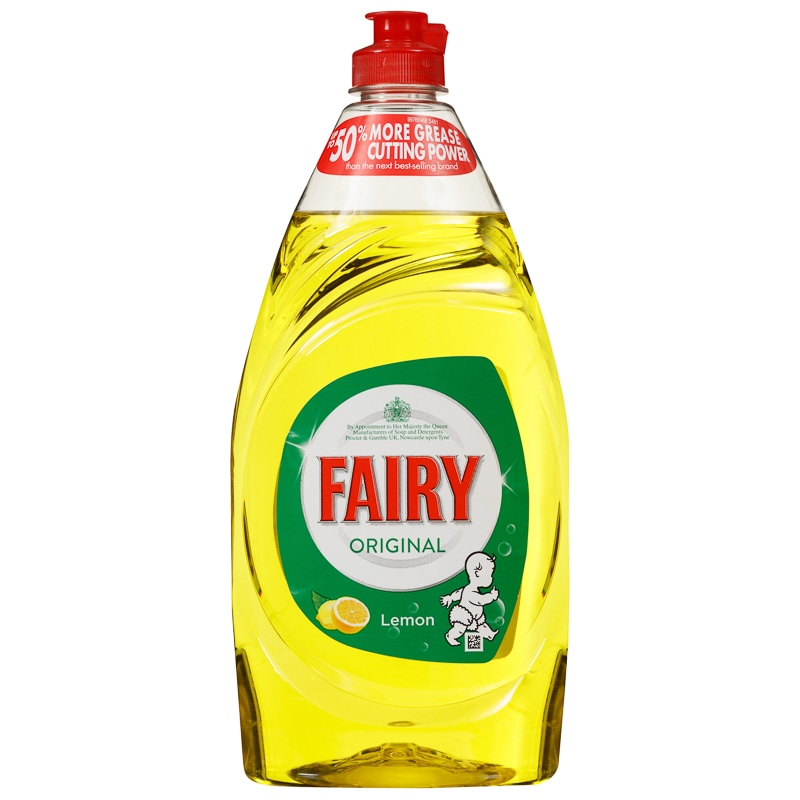 Fairy Original Washing Up Liquid Lemon 780ml Household