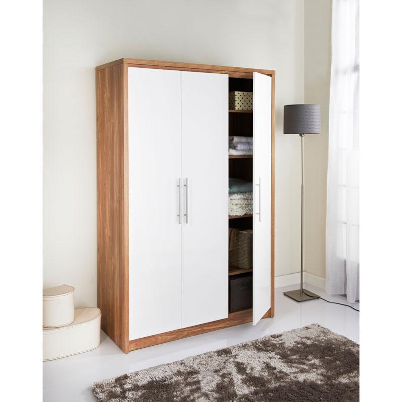 Geneva 3 door wardrobe bedroom furniture b m stores for B m bedroom furniture