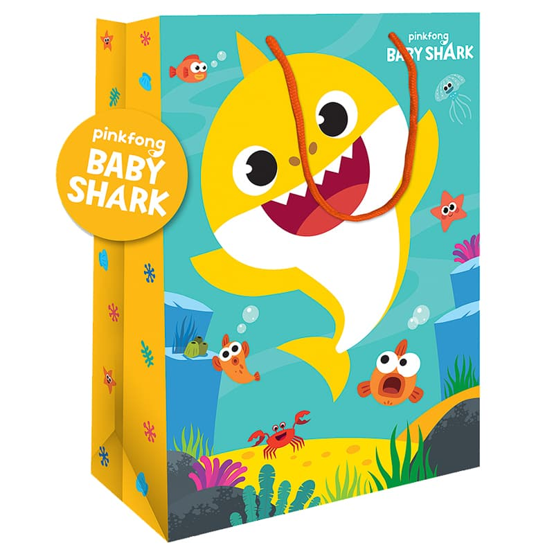 Baby Shark Extra Large Gift Bag