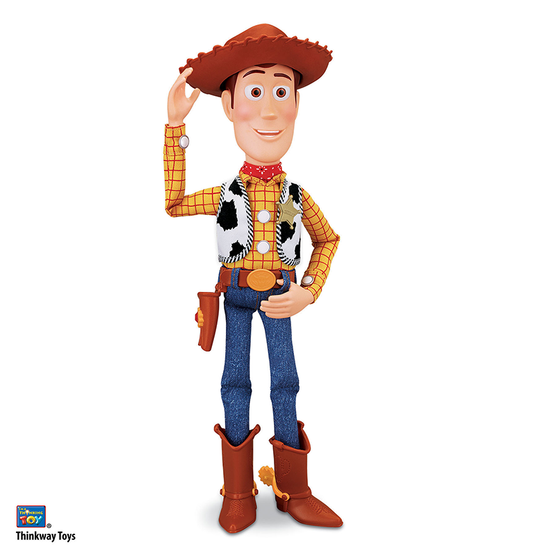 """Toy Story Sheriff Woody Action Figure 16"""" 