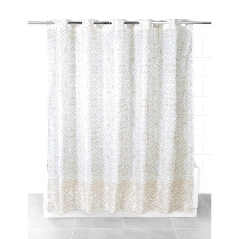 Beldray Hookless Shower Curtain - Natural