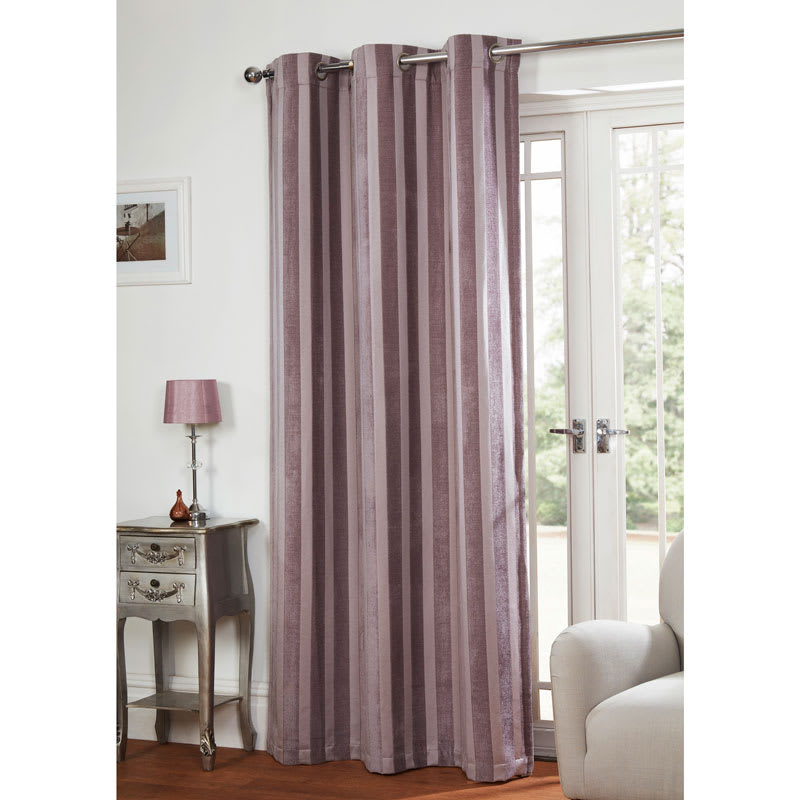 manhattan chenille stripe panel 54 x 86 curtains b m. Black Bedroom Furniture Sets. Home Design Ideas