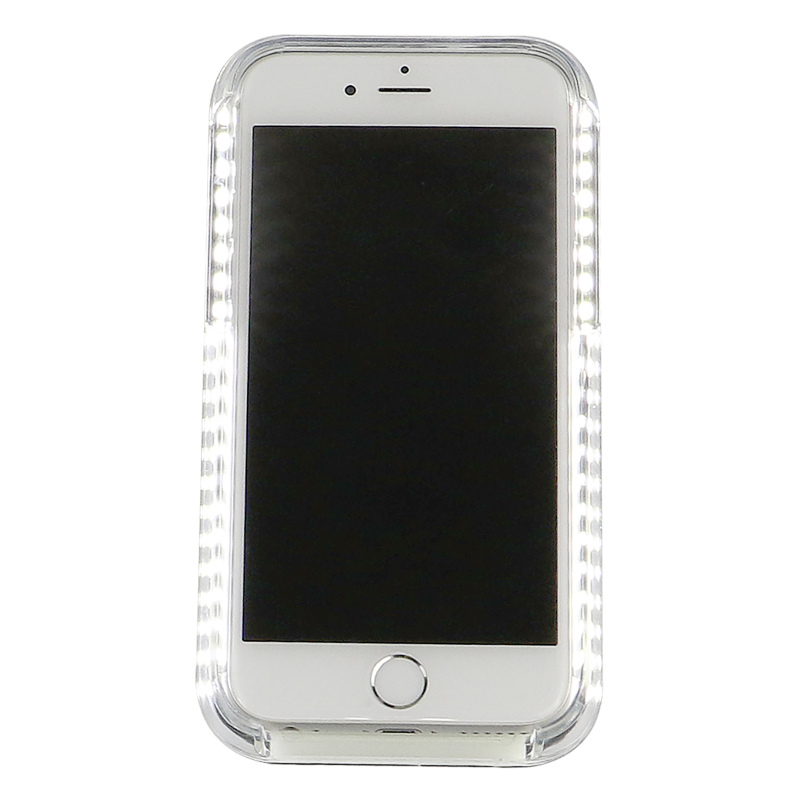 iphone led case optimum illuminated led selfie iphone 5 6 6s b amp m 11984