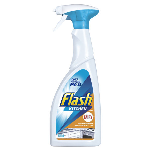 Flash Kitchen Cleaner 450ml Household Cleaners B Amp M