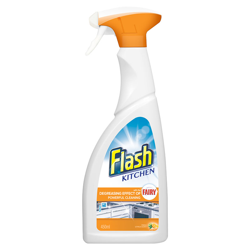 Flash kitchen cleaner 450ml household cleaners b m for Cleaning products for kitchen