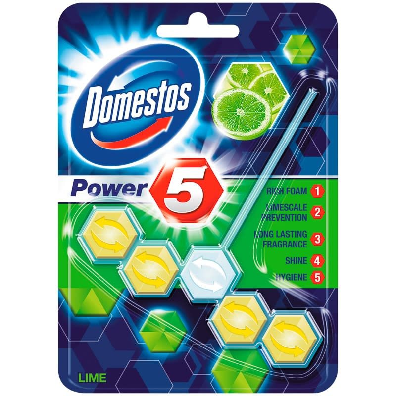 Domestos Power 5 Rimblock - Lime