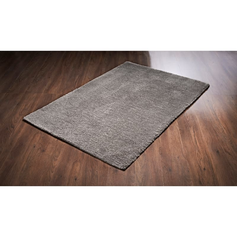 Desire Luxury Deep Pile Plain Rug 100 X 150cm Home Decor