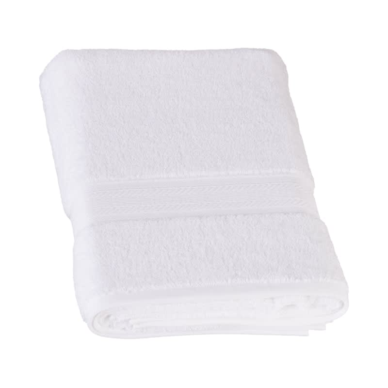 Signature Zero Twist Bath Towel - White