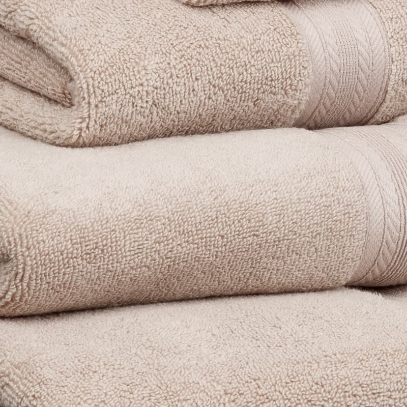 Signature Zero Twist Hand Towel - Biscuit
