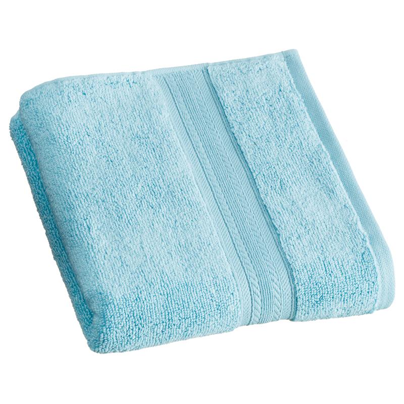 Signature zero twist hand towel aqua bathroom b m for Bathroom hand towels
