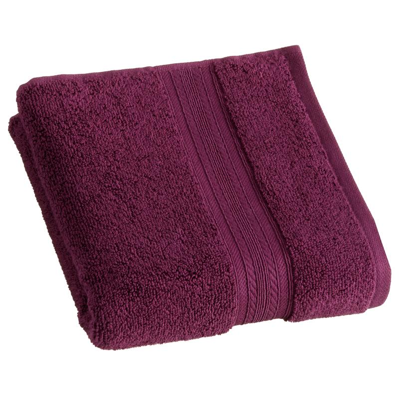 Signature zero twist hand towel plum bathroom b m for How to keep white towels white