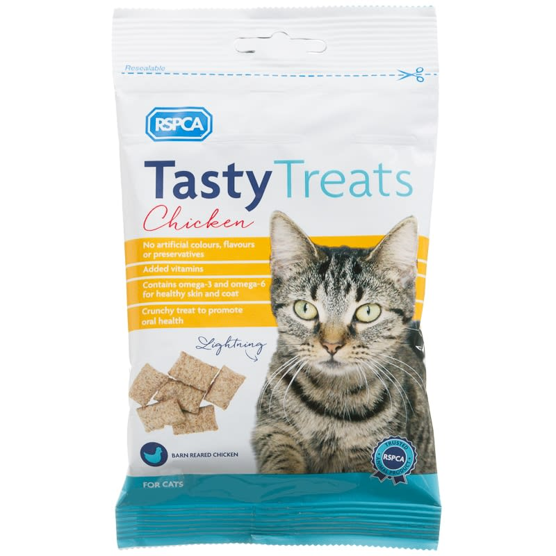 RSPCA Tasty Cat Treats - Chicken