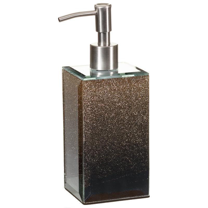 Glitter Ombre Soap Dispenser Bathroom Accessories B M