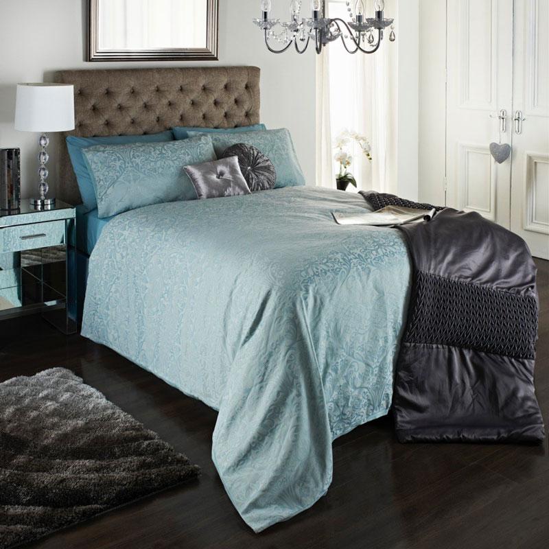 Isabelle Jacquard Duvet Set King Size Bedding B Amp M