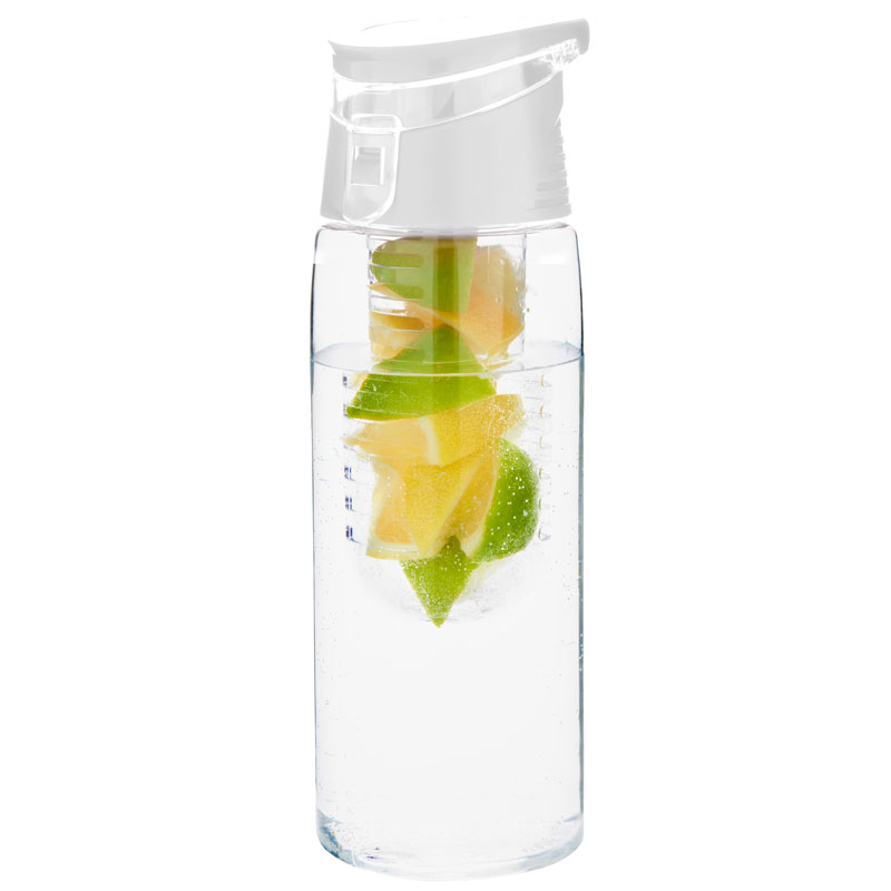 white fruit water bottle fruit infuser