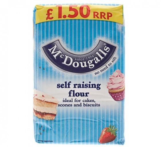 McDougalls Self-Raising Flour 1.25kg | Groceries - B&M Raising Flour