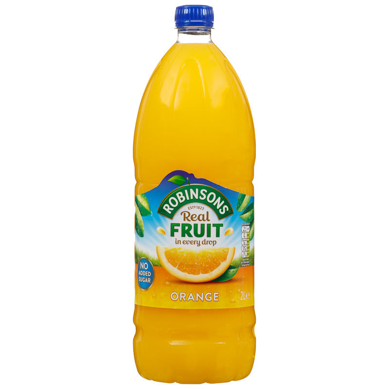 Robinsons Double Concentrate Orange 2l Fruit Squash