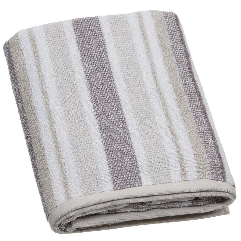 Bathroom Towels Striped: Bathroom Textiles - B&M Stores