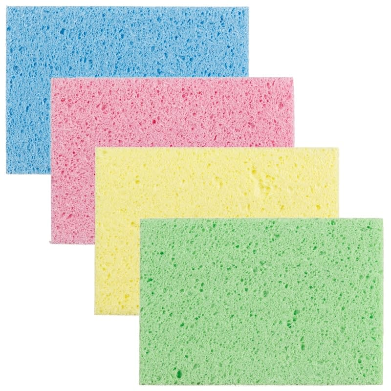 Large Cellulose Sponges 4pk Washing Up Household B Amp M
